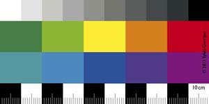 riss lineal mit rissbreitenskala und fotoma stab mit farbreferenz. Black Bedroom Furniture Sets. Home Design Ideas